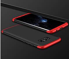 Чехол GKK 360 для Samsung S8 Plus / G955 бампер бампер Black-Red