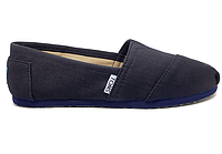 Женские TOMS Dark Navy Canvas Women's Classics, фото 1
