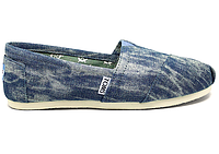 Женские TOMS Baltic Washed Denim Women's Classics