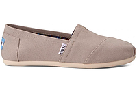 Женские TOMS Light Grey Canvas Women's Classics, фото 1