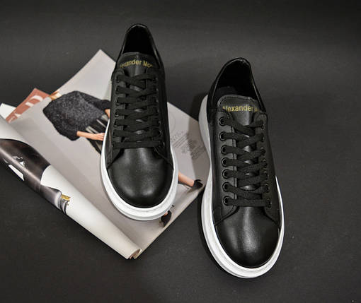 Женские Кроссовки Alexander Mcqueen кроссовки женские черные, фото 2