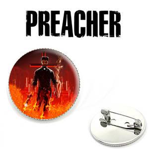 Значок Preacher с Джесси Кастером