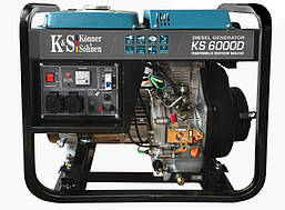 Дизельный генератор Könner&Söhnen KS 6000 D