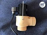 Сливной клапан ELVA с резьбой нормальной закрытый DN50 220В, фото 2