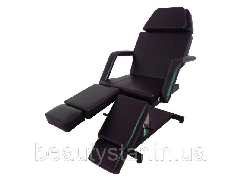 Кресло Кушетка педикюрная модель 235 с гидравлической регулировкой высоты