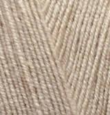 Пряжа Лана голд файн (05-беж),(Шерсть(49%),Акрил(51%)),Alize (Ализе)(Туреччина),100(гр),390(м)