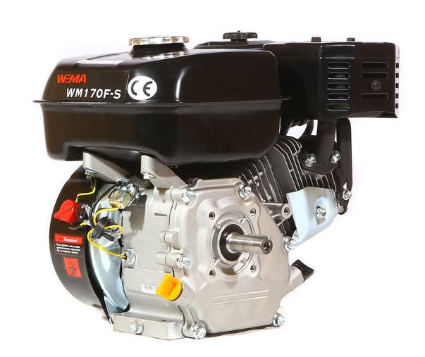 Бензиновый двигатель WEIMA WM170F-S NEW