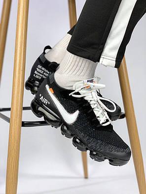 Мужские кроссовки в стиле Off White x Nike VaporMax (40, 41, 42, 43, 44, 45 размеры), фото 2