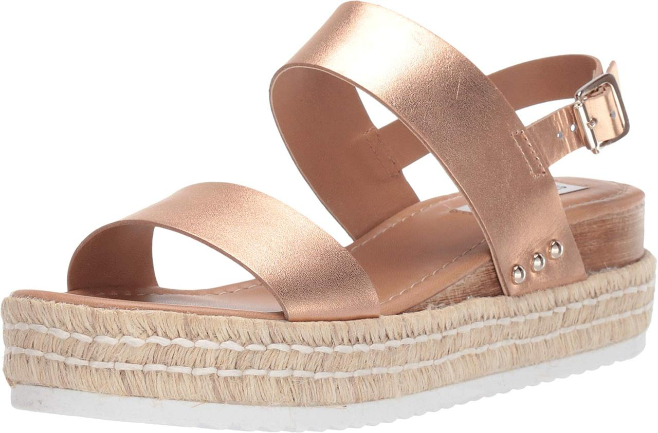 32834e8553 Туфли на каблуке (Оригинал) Steve Madden Catia Wedge Sandal Rose Gold, ...