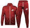 Спортивный костюм Nike (Premium-class) темно-синий с полосками, фото 3