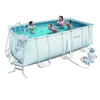 Прямоугольный каркасный бассейн, размером 412х201х122 см