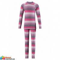 Комплект термобелья  для девочки Reima Taival 536181, цвет 5181