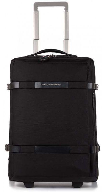 Малый тканевый чемодан Piquadro MOVE2 BV2960M2_N 43 л, черный