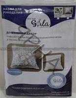 Аксессуары Подушка Хризантема (1302-белый),(),Gala(Украiна),(гр),(м)