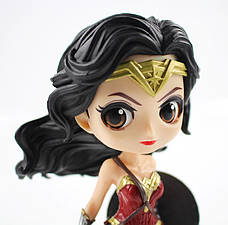 Оригинальные статуэтки Wonder Woman в стиле аниме персонажа, Фигурки Чудо-женщины, Аниме., фото 2