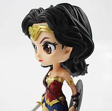 Оригинальные статуэтки Wonder Woman в стиле аниме персонажа, Фигурки Чудо-женщины, Аниме., фото 3