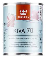 Лак глянцевый Tikkurila Kiva 70, 0.9 л