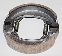 Колодки тормозные Honda DIO-50 прямая пружина барабан.