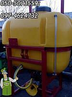 Навесное оборудование Опрыскиватель на 800 литров для трактора МТЗ, ЮМЗ и др. радиусом захвата - 12(14) метров