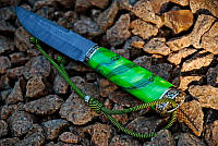 """Нож для охоты ручной работы """"Древесный"""", дамасск (наличие уточняйте)"""