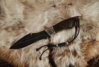 """Нож ручной работы, нож-антитеррор """"Воин1"""", дамасск (наличие уточняйте)"""