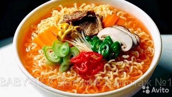Локшина Nongshim Шин Рамен гостра, швидкого приготування (Корея)