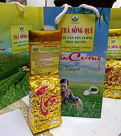 Вьетнамский Зеленый чай(премиум класса) Dac Sun Tan Cuong Thai Nguyen(Вакуум) 100г