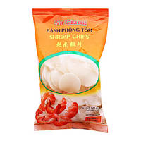 Рисовые чипсы с креветками в пакете SA GIANG 200г (Вьетнам)