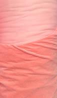 Ткань Велюр (однотонный) - Персик