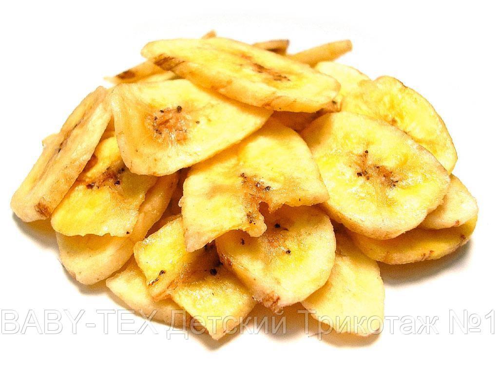 Бананы сушеные (банановые чипсы) 500 грамм (Украина)