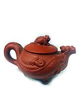 Исинский чайник из натуральной глины 150мл