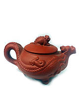 Исинский чайник з натуральної глини 150мл