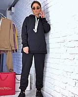 Женский спортивный костюм с худи удлиненным 3SP609, фото 1