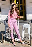Женские летние брюки с завышенной талией 2SH335, фото 1