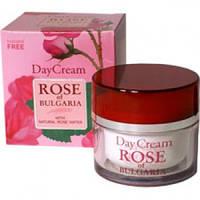 Крем для лица дневной с розовой водой- Day Cream Rose of Bulgaria 50 мл