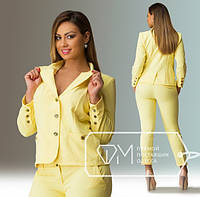 """Стильный молодежный пиджак для пышных дам """" Chanel """" Фабрика Моды"""