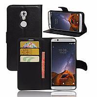 Чехол-книжка Litchie Wallet для ZTE Axon 7 Mini Черный