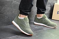 Мужские кроссовки в стиле Reebok, зеленые 46 (29,5 см)