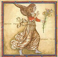 Декупажная салфетка Ангел 8206