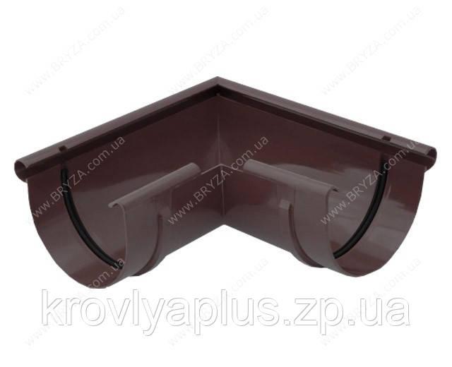 Водосточная сисиема BRYZA 150 Угол внешний 90 гр.коричневый