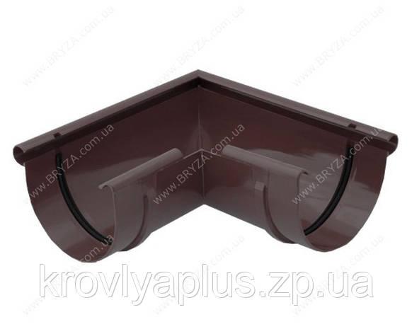 Водосточная сисиема BRYZA 150 Угол внешний 90 гр.коричневый , фото 2