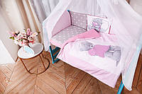 """Детское постельное белье в кроватку """"Тедди"""", в расцветках, фото 1"""