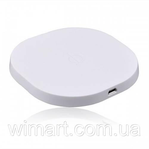 Беспроводная зарядка Qi для смартфонов и планшетов белая