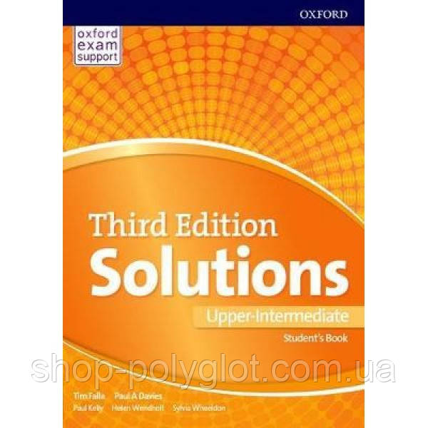 Solutions 3rd Edition Upper-Intermediate Student's Book