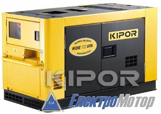Дизельный генератор Kipor KDE12STAO3