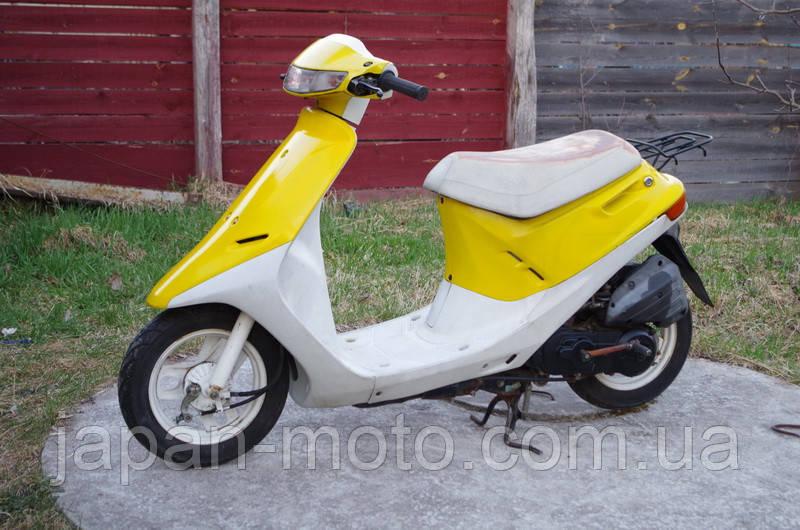 Мопед Хонда Дио 18  (желтый)