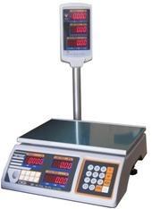 Весы торговые DS 700E Р (со стойкой)