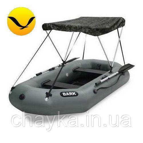 Тент для надувной лодки Bark B-250. (Лодочный тент на лодку 2,50м);