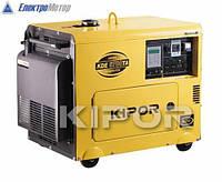Дизельный генератор Kipor KDA6700TAO