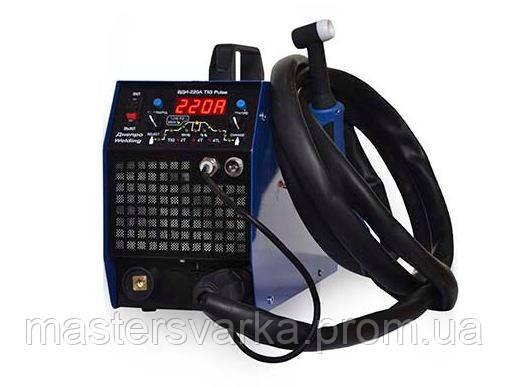 Сварочный аргоновый аппарат Днепровелдинг ВДИ-220А TIG Pulse ( без кабелей )